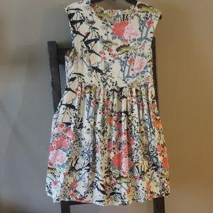 Sunny Girl XL Asian Fabric Dress